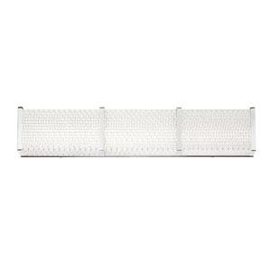 Wynn Chrome 24-Inch LED Wall Sconce