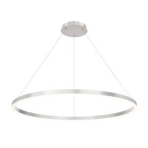 Spunto Silver 47-inch LED Pendant