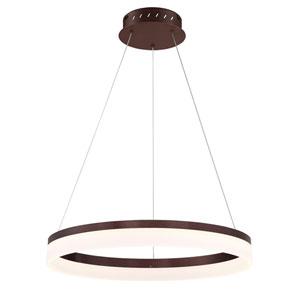 Minuta Bronze 23-Inch LED Pendant