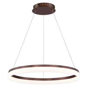 Minuta Bronze 32-Inch LED Pendant