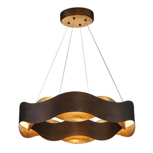 Vaughan Bronze LED Pendant