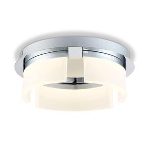 Bria Chrome 11-Inch LED Flush Mount