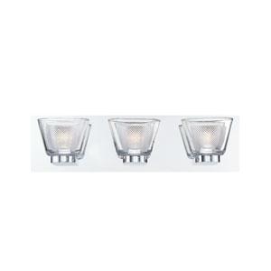 Trent Chrome Three-Light LED Bath Vanity