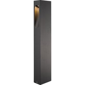 Graphite Grey 26-Inch LED Outdoor Bollard