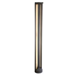 Graphite Grey 55-Inch LED Outdoor Bollard