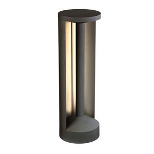 Graphite Grey 20-Inch LED Outdoor Bollard