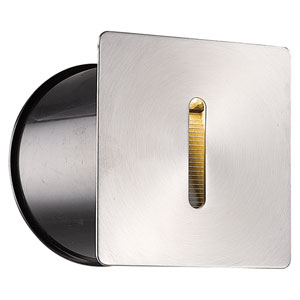 Stainless Steel LED Outdoor In-Wall Light