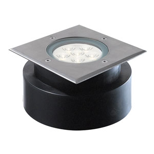Stainless Steel Six-Light LED Outdoor In-Ground Light