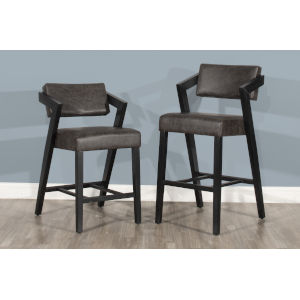 Snyder Blackwash Counter Height Stool