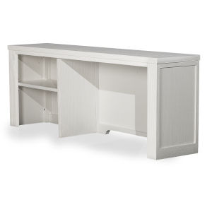 Highlands White Desk Hutch