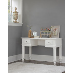 Lake House White Writing Desk