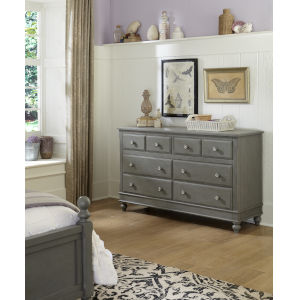 Lake House Stone 8 Drawer Dresser