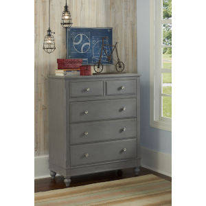 Lake House Stone 5 Drawer Chest