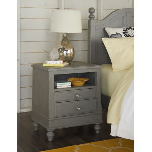 Lake House Stone Nightstand