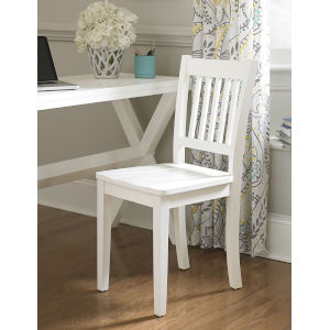 Lake House White Chair