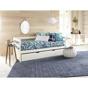 Hillsdale Caspain Daybed With Trundle, White
