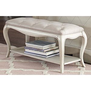 Angela Bed Bench With Tufted Top
