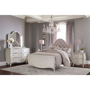 Angela Twin Arc Upholstered Bed