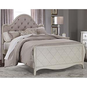 Angela Full Arc Upholstered Bed