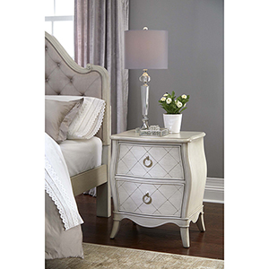 Angela Nightstand With 2 Drawers