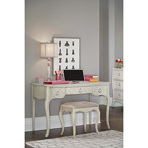 Angela Desk With Bench
