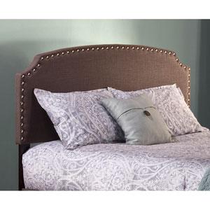 Lani Upholstered Headboard - Full - Dark Linen Gray - Headboard Frame Not Included