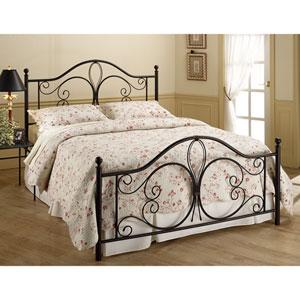 Milwaukee Antique Brown Queen Complete Bed