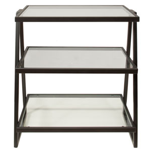 Harlan Three-Tier Shelf Stand