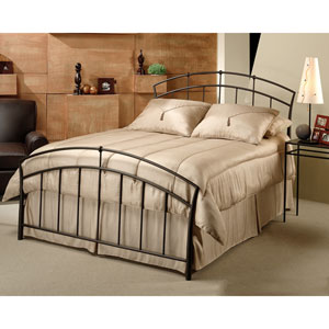 Vancouver Antique Brown Queen Complete Bed