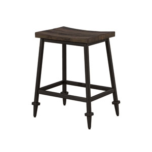 Trevino Backless Non-Swivel Counter Height Stool - Set of 2