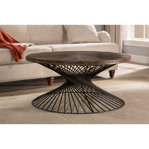 Kanister Round Coffee Table