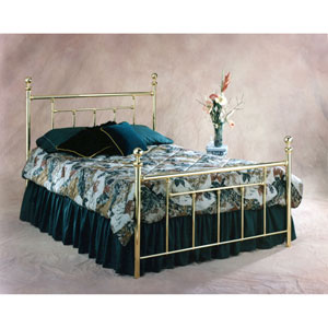 Chelsea Classic Brass Full Complete Bed