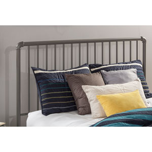 Brandi Headboard - Queen - Headboard Frame Included, Stone