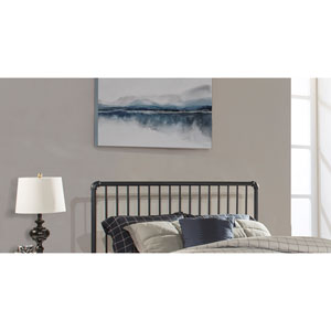 Brandi Headboard - Queen - Headboard Frame Included, Navy