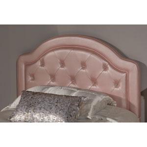 Karley Headboard - Twin - Headboard Frame Included - Pink Faux Leather