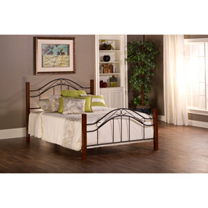 Matson Cherry Queen Complete Bed With Rails