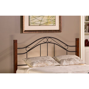 Matson Cherry Headboard King with Rails