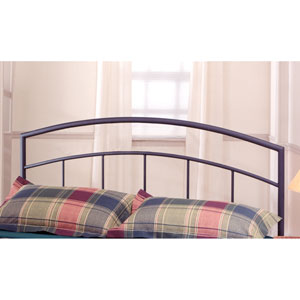 Julien Black Queen Headboard with Frame