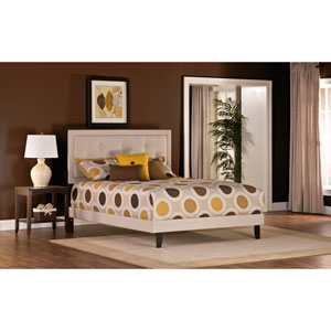 Becker Cream Queen Bed