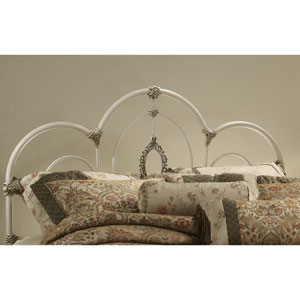 Victoria Antique White King Headboard Only