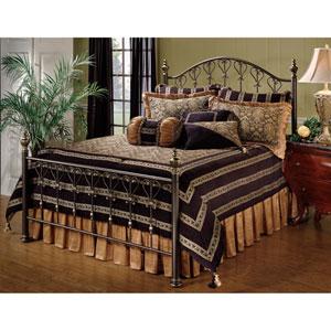 Huntley Dusty Bronze Queen Complete Bed