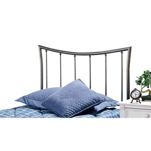 Edgewood Magnesium Pewter Twin Headboard Only