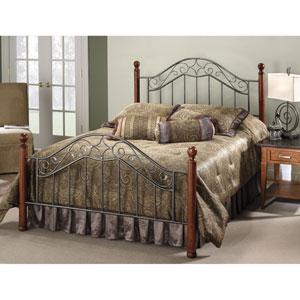 Martino Smoke Silver Full Complete Bed