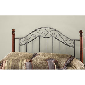 Martino Smoke Silver King Headboard Only