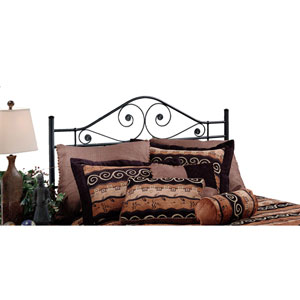 Harrison Texture Black Full/Queen Headboard Only
