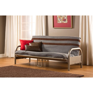 Geneva Pewter Full Futon