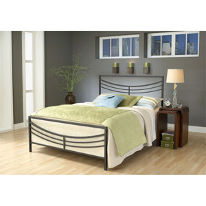 Kingston Brown King Complete Bed