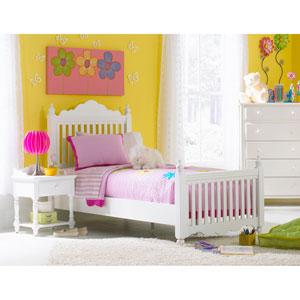 Lauren White Full Post Complete Bed