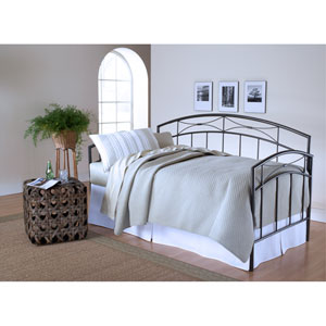 Morris Magnesium Pewter Daybed with Roll-Out Trundle