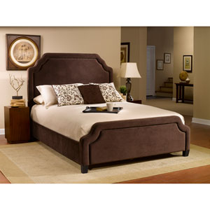 Carlyle Chocolate Queen Complete Bed